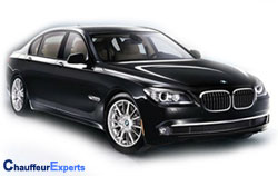 chauffeur driven cars in london