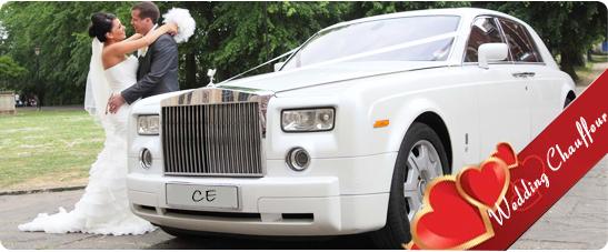 Wedding Car Hire Chauffeur UK