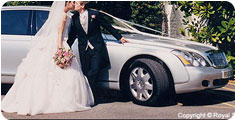 maybach62 wedding car